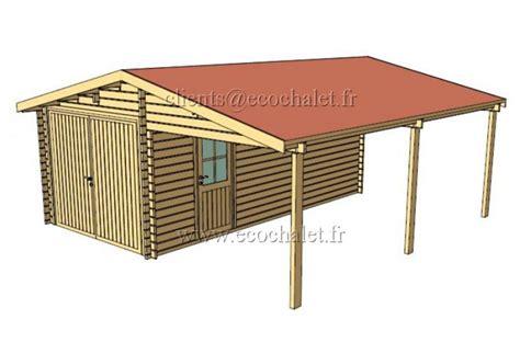 carport 6x6m garage bois carport 36m 178 6x6m 44mm