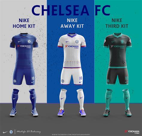 Jersey Germain Home Season 2017 2018 chelsea nike kits 2017 2018 on behance