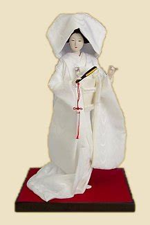 Japanese Wedding Dolls by Sai No Kawara Sainokawara Jizo Judges Of Hell