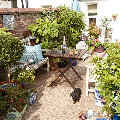 small garden ideas to make the most of a tiny space potted plants various sizes keith henderson