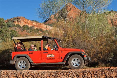Jeep Adventure Jeep Tours Sedona Offroad Adventures