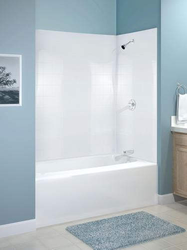 menards bathtubs menards bathtubs and showers mirage 60 quot x 30 quot 3 piece bathtub wall set at
