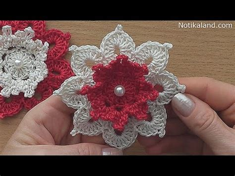 crochet flower pattern easy youtube crochet flower tutorial very easy youtube
