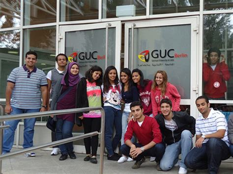 Media Mba Guc by German In Cairo Guc Goes Berlin Photos