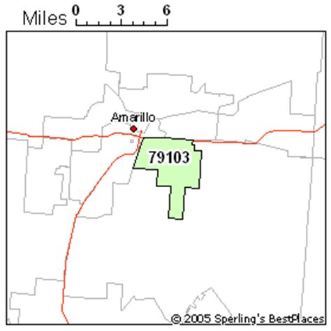 amarillo texas zip code map best place to live in amarillo zip 79103 texas