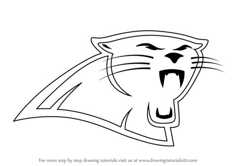 carolina panthers printable logo pictures to pin on