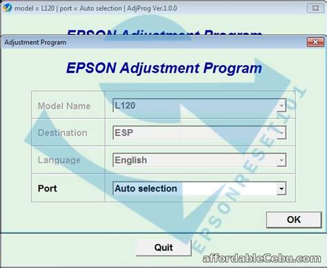 epson l805 resetter download epson adjustment program resetter for sale outside cebu