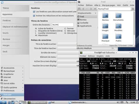 environnement bureau linux les environnements de bureau sous gnu linux informatique