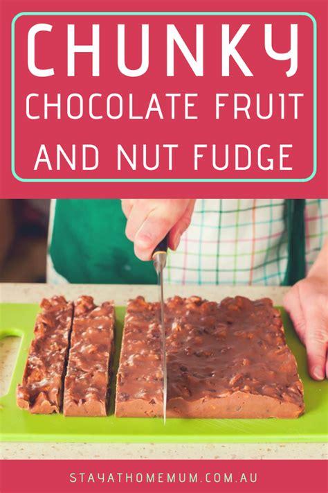 Chunky Fruit Nuts chunky chocolate fruit and nut fudge