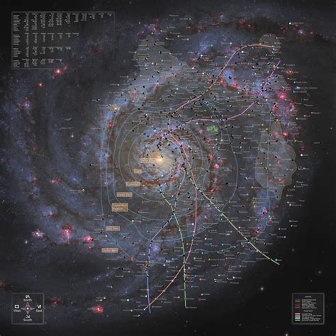 printable star wars galaxy map starwars galaxy map completed v1 6 by manaii on deviantart