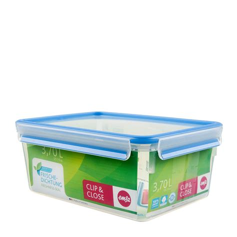 large food container clip food storage container large format emsa