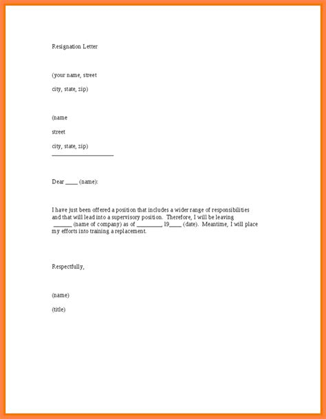 business letter notice 5 resignation letter 3 months notice sle notice letter