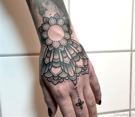 tattoo on hand round 50 great looking mandala tattoos on hand