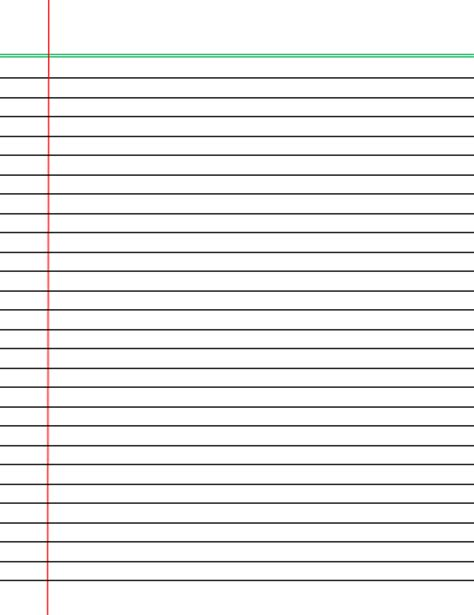 ruled paper template word pin wide lined paper handwriting on