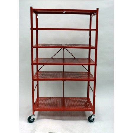 Origami Shelving - origami r5 foldable metal 61 62 h nine shelf shelving