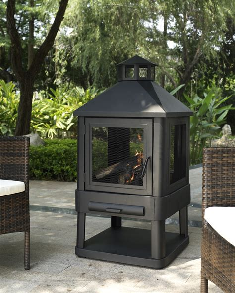 chiminea kmart crosley outdoor monticello firepit outdoor living