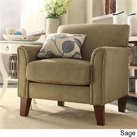 Comfy Modern by Modern Living Contemporary Comfy Upholstered Arm Chair