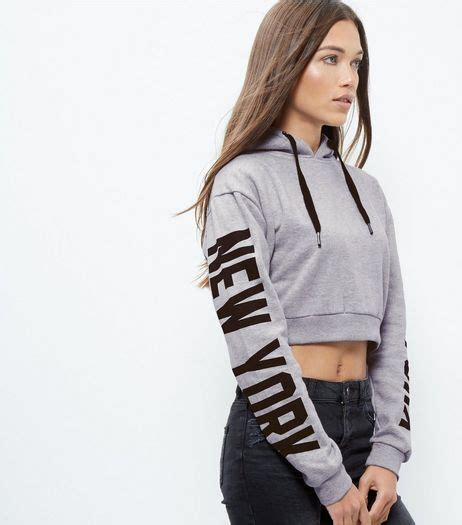 New York Cropped Hoodie White M the 25 best cropped hoodie ideas on crop top