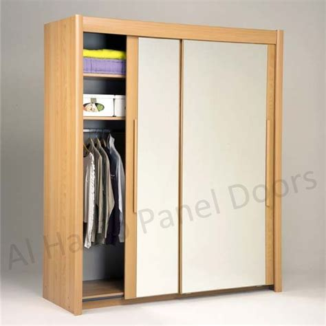 Free Standing Closets With Doors Sliding Two Door Free Standing Wardrobe Hpd518 Sliding Door Wardrobes Al Habib Panel Doors