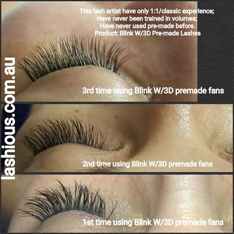 20 Off Blink Lash 3d W Premade Unglued Volume Fans