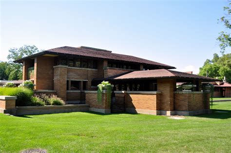 frank lloyd wright inspired house plans exterior prairie style