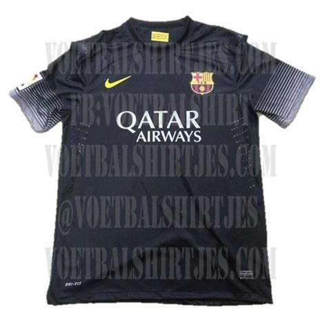 Jersey Barcelona 3rd 13 14 barcelona chions league shirt 13 14 voetbalshirtjes
