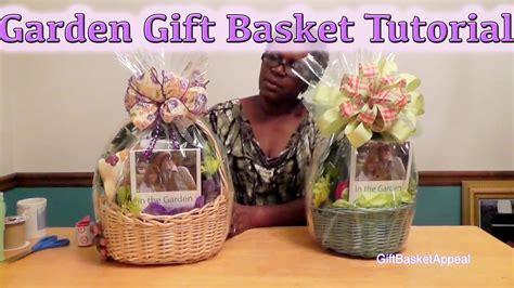 garden basket ideas how to make a garden gift basket diy gifts