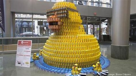 How To Build A Canned Food Sculpture by Baltimore And Anne Arundel County The Heart Of Maryland