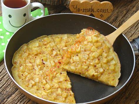 patatesli kaarl sandvi omlet nefis yemek tarifleri pratik patatesli omlet