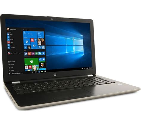 Hp Lenovo Gold buy hp 15 bs162sa 15 6 quot laptop silk gold free delivery