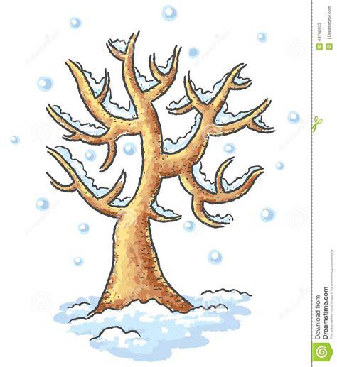 imagenes de arboles invierno dibujo del 225 rbol del invierno ilustraci 243 n del vector