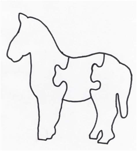 free printable horse jigsaw puzzles free printable rocking horse plans dt donto