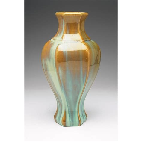 Fulper Vase by Fulper Pottery Flambe Glaze Vase Form 660