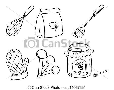 dibujos infantiles utensilios de cocina imagenes de trastes de cocina dobujos imagui