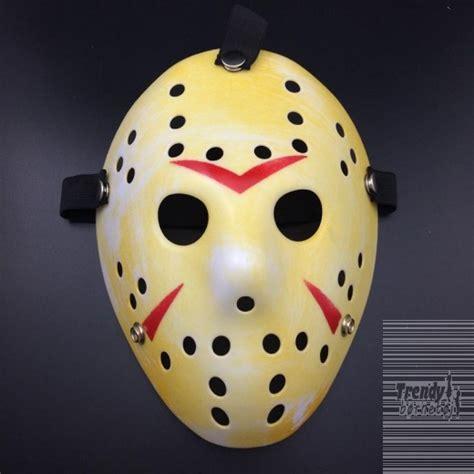 Friday Killer Longsleve 31 hockey maske i gul