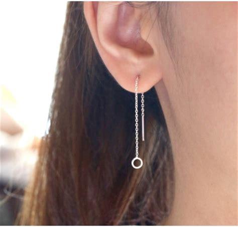 Threader Earrings threader earrings j co jewelry