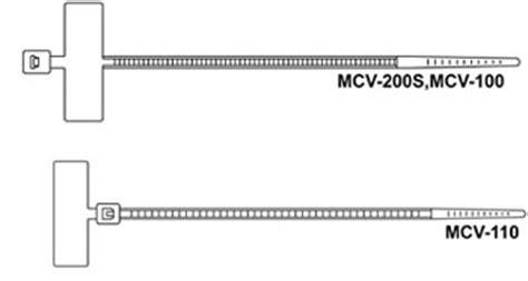 Marker Tie Kss Mcv 100 2 5 X 100 Mm B10 N1249 Cable Ties