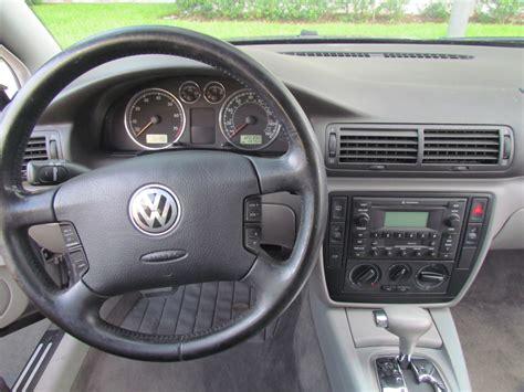 volkswagen wagon interior volkswagen passat 2002 wagon image 14
