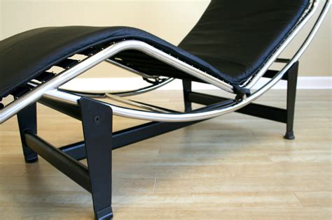 black leather chaise lounge chair wholesale interiors le corbusier leather chaise lounge