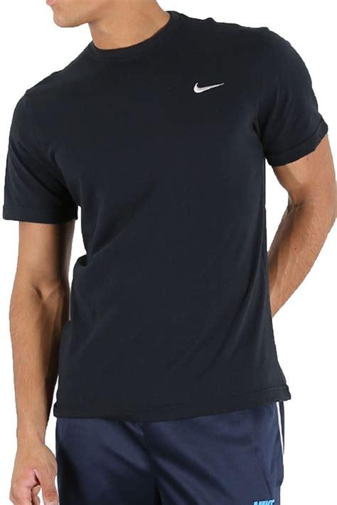 Nike Logo Shirt B C nike mens branded crew neck embroidered swoosh logo