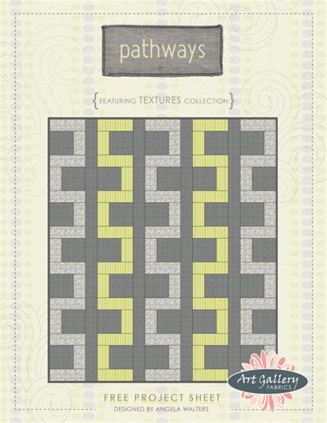 stitching pathways successful quilting on your home machine landauer publishing books quilting is my therapy pathways free quilt pattern