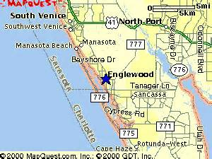englewood florida map