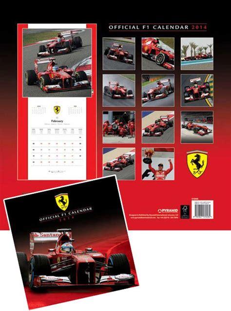 Ferrari Kalender by Ferrari F1 Kalender 2014 Kalender 30x30