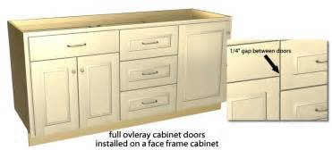Unfinished Shaker Style Kitchen Cabinets Full Overlay Tutorial