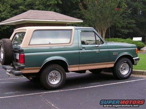 ford bronco rims 1989 ford bronco new rims and tires picture supermotors net