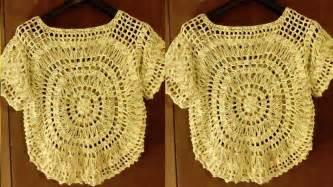 aprende a tejer blusas a crochet paso a paso learn knit easy crochet como tejer blusas para damas el paso a paso tejidos a