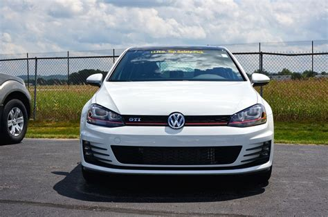 white volkswagen golf 2015 volkswagen golf gti mk7 now at us dealers nordwulf