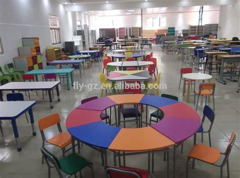 Height Adjustable Classroom Furniture School Desk In Used Student Desks For Sale