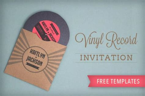 diy printable vinyl totally free totally rockin diy vinyl record wedding