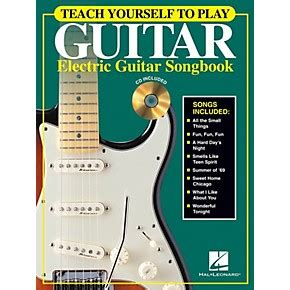 teach yourself to fly books hal leonard teach yourself to play guitar electric